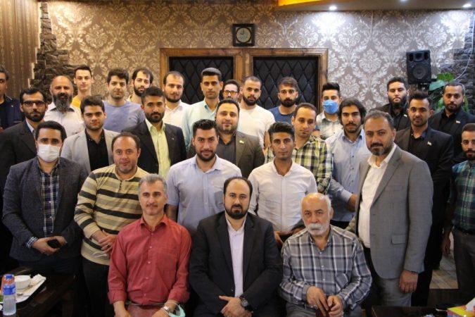 مراسم تجلیل از پهلوانان و قهرمانان ورزشی شهر رشت بالاخص معلم پهلوان حاج حسن خوشکردار